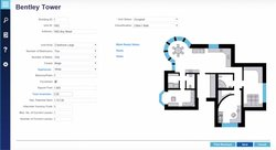 MRI Software image: This property management application lets you create brochures with layouts and more information about a unit.