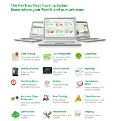 NexTraq offers real-time alerts, fuel management, reporting, mapping and more.