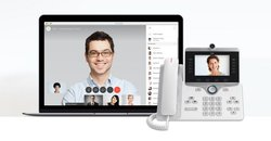 The phone systems allow for voice and video calls.