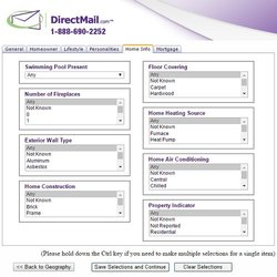 DirectMail.com image: The service features many criteria for consumers with home improvement needs.