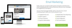InfoUSA image: You can purchase email campaigns that InfoUSA will help you optimize and send out.