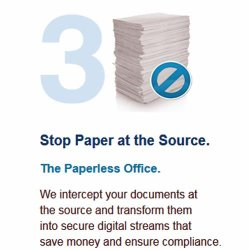 Docufree image: Day Forward scanning, offered as a separate service, transforms all your paperwork going forward into digital documents.