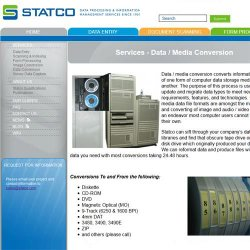 Statco image: The company can perform conversions from one media format to another.