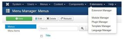 Joomla image: You have the option to use plugins or use your own source code.