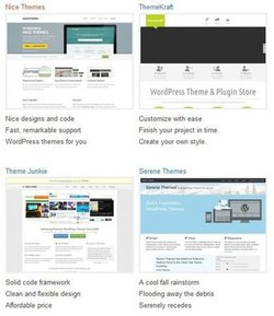 WordPress image: You can build your own themes or choose from one of many ready-made ones.