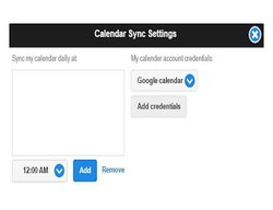 You can sync Google and Outlook calendars with this software.