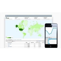 Onbile image: This service uses Google Analytics for its comprehensive reporting.