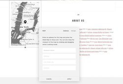Using Squarespace's Google Maps feature, you can show potential customers where your business is located.