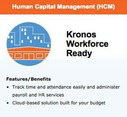 This software helps you track hourly employees' time and attendance using its cloud-based software.