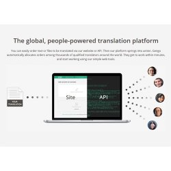 Gengo image: Use the website or downloaded dashboard to start human translation.