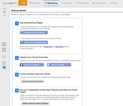 Appointy image: You can embed or share the online scheduler code in a variety of ways.
