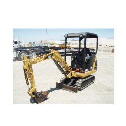 Cat 301.5 Mini Hydraulic image: The excavator is compatible with digging buckets, augers and hydraulic hammers.