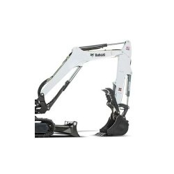 Bobcat E32i T4 image: The excavator features a turbocharged engine that helps cope with extra weight.