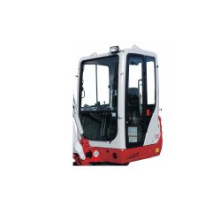 Takeuchi TB216 Compact image: This model weighs 3,902 pounds.