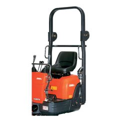 Kubota K008-3 image: This machine has a pedal for various speeds and the boom swing.
