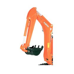 Kubota K008-3 image: The model is lightweight, weighing in at 2,200 pounds.