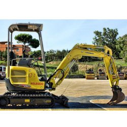 Yanmar ViO17 image: This excavator weighs 3,836 pounds.