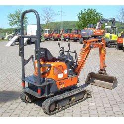 Hitachi ZX10U-2 image: The tail swing radius on this machine is 2.7 feet.