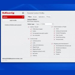 BullGuard Premium Protection image: BullGuard's parental control feature can translate to business, too, protecting your computers from accessing inappropriate or dangerous content.