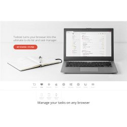 Todoist image: This software is compatible with multiple platforms, from computers to smartwear.