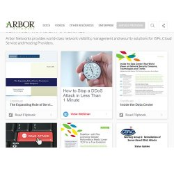 Arbor Cloud image: The company offers a user-friendly interface and access to several resources.