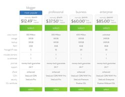 Bluehost image: With four different pricing tiers, Bluehost offers a solution for almost any WordPress hosting need.