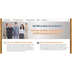 Clean Slate Tax image: This company begins its work on your case by investigating the information the IRS has about you. This way, Clean Slate Tax knows which step is best to take next.