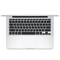 Apple MacBook Pro 13 image: The MacBook Pro keyboard features black tiled keys, is a comfortable size and has adjustable backlighting.