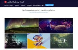 Adobe Marketing Cloud can help you with mobile, cross-channel and many other types of marketing.
