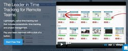Hubstaff image: You can easily track the active and idle minutes of each employee.