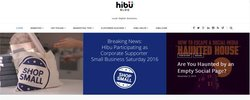 Hibu image: You can read this web design company's blog for ideas on how to promote your local business.