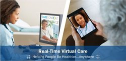 AMC Health image: AMC's telehealth platform allows for live video interactions between doctors and patients.