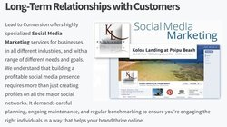 Lead To Conversion image: This service helps you create a strategy for building long-term client relationships.