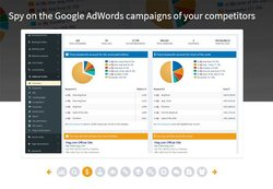 SEOprofiler image: SEOprofiler pulls information from Google AdWords to help you gather information on your competitors.