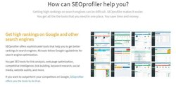 SEOprofiler image: This software specifically follows Google's guidelines to help you with your SEO.