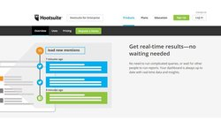 Hootsuite image: Hootsuite gives you information in real time.