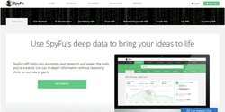 SpyFu image: If you have coding resources, you can use SpyFu's API to further enhance your experience with this tool.