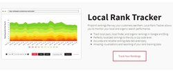 Whitespark image: You can track your local SEO rankings using Whitespark.