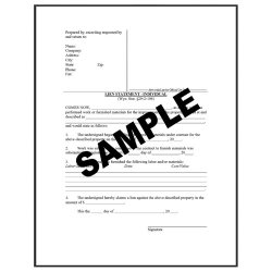 US Legal image: Liens are one of thousands of forms available through US Legal.