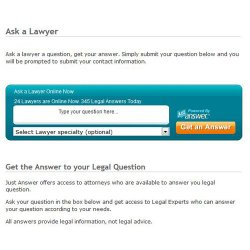US Legal image: You have the option to ask a real lawyer to ensure you are legally on track.