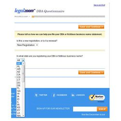 LegalZoom image: Each form conforms to your state's requirements.