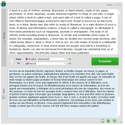 Babylon Image When Translating Text Source Text Goes In The Top Pane Finished