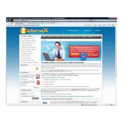 IdiomaX image: This service translates entire websites.