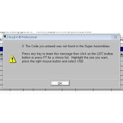 EasyEst Pro image: If you need some help, this program has popup hints and tips that can guide you through each step.