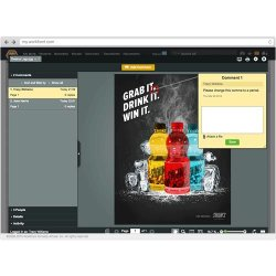 Workfront image: Workfront's project management system provides an integrated online proofing tool ideal for creative and design teams.