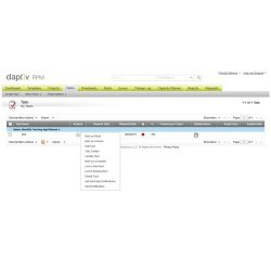 Daptiv PPM image: Tasks can easily be marked as complete, updated, deleted and more.