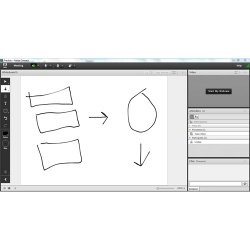 Adobe Connect image: You can use the whiteboard during presentations to add illustrations to your meeting.