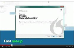 Dragon Premium image: Tutorials will teach you how set up the software.