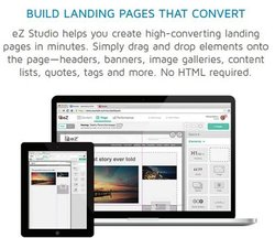 eZ Platform image: The websites you design convert easily to mobile platforms without additional HTML programming.