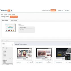 Volusion image: Volusion has multiple free and premium templates for you to choose from when you design your online store.